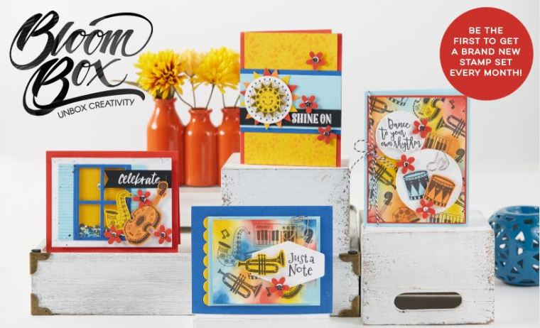 fun stampers journey September bloom box
