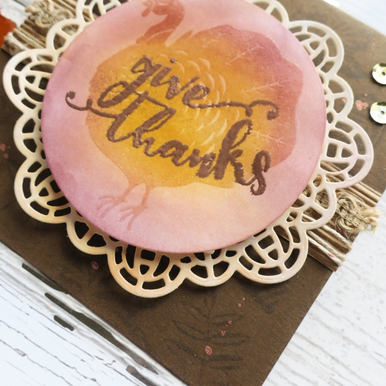 Embossing Folder, Fun Stamper Journey, FSJ, Blog Hop, Creative Team, Stamping, Cardmarking, Fall, Autumn Greeting, Die cut, Stamping