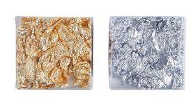 Silver & Gold Leaf Foils (Foil Paper)