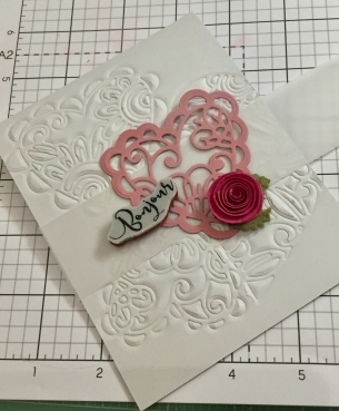 FSJ, Fun Stampers Journey, Spellbinders, Follow your Heart, Valentine's Stamps, Die Cuts